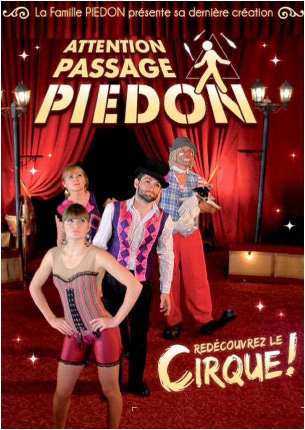 Le Cirque Piedon de retour à la Roque