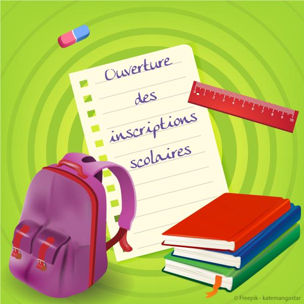 Ecole inscriptions rentrée 2021 à partir du 26 avril