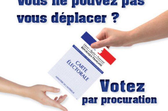 Voter par procuration pour les élections départementales et régionales 2021
